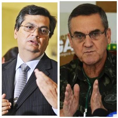 Flávio Dino reagiu com firme às declarações do general Vilas Boas