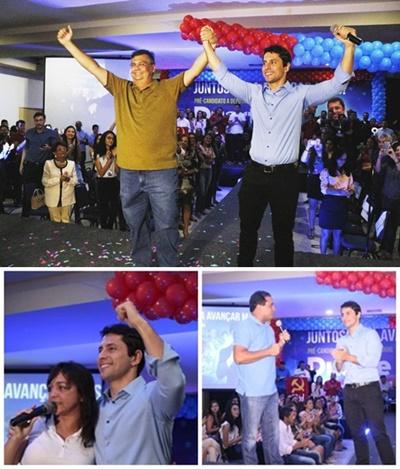 Duarte Jr. mostrou prestígio ao receber Flávio Dino, Eliziane Gana e Weverton Rocha no lançamento de sua candidatura à Assembleia Legislativa