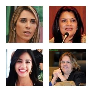 Andrea Murad e Graça Paz vão sair e Daniela Tema e Cleide Coutinho podem entrar