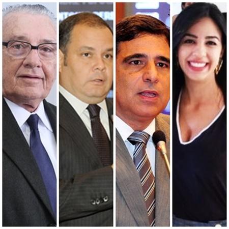 José Reinaldo, Rogério Cafeteira, Max Barros e Daniela Tema mudaram de partido para as eleições