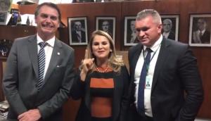 Maura Jorge bandeou-se para Jair Bolsonaro