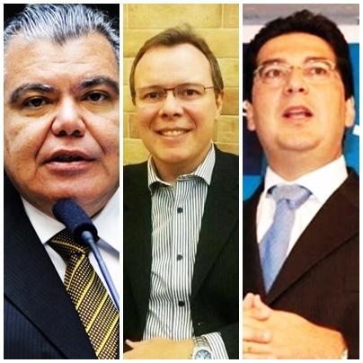 Sarney Filho terá como candidatos a suplentes João Manoel Souza e Clóvis Fecury