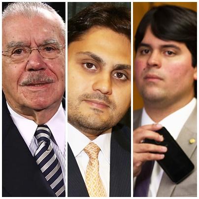 De olho no DEM e no PP, José Sarney pode ter de enfrentar Juscelino Filho e André Fufuca a nata da novíssima geração de políticos do Maranhão