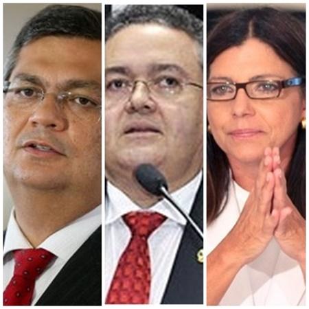 Guerra sucessória: Flávio Dino enfrenta agora a aliança entre Roberto Rocha e Roseana Sarney