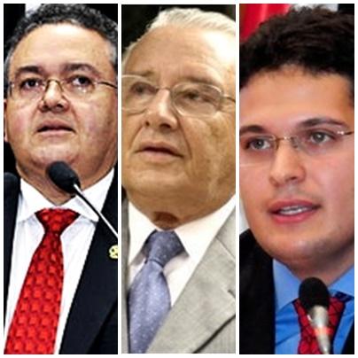 Roberto Rocha, José Reinaldo e Sledrandre Almeida formam chapa tucana