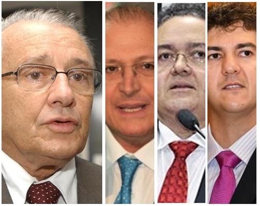 José Reinaldo anuncia que apoiará Geraldo Alckmin nos palanques de Roberto Rocha e Eduardo Braide