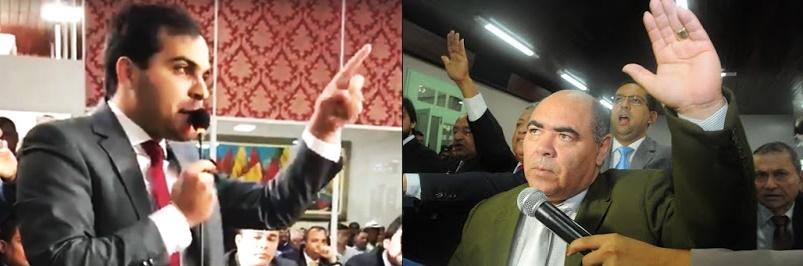 Aldir Júnior levantou suspeita de corrupção na Câmara Municipal; Astro de Ogum respondeu com ironia