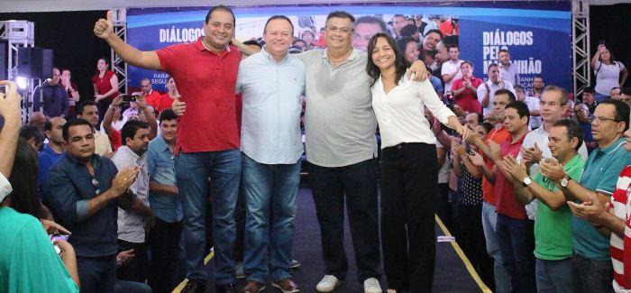 Flávio Dino mnta esquema para proteger Eliziane Gama contra ataques de adversários
