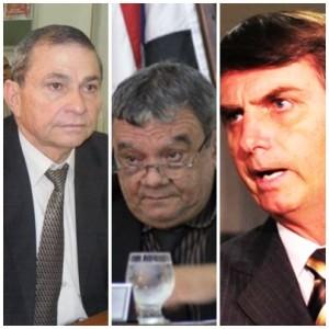 Chico Carvalho e Isaías Pereirinha não estão nem aí para Jair Bolsonaro