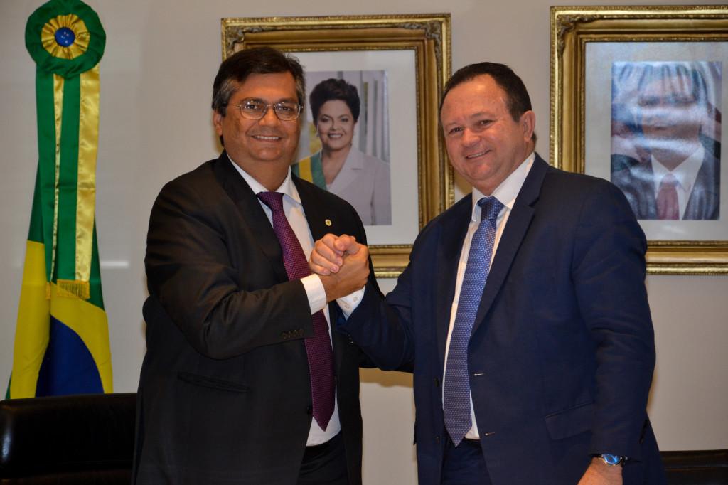 Flávio Dino não abre mão de ter Carlos Brandão como candidato à reeleição como vice-governador