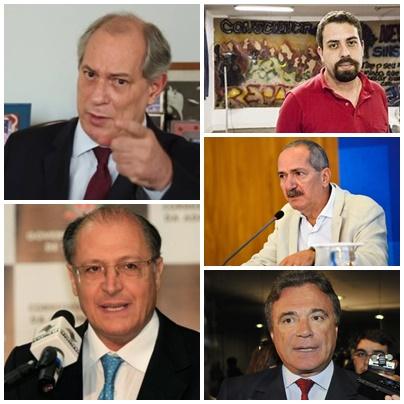 Ciro Gomes, Geraldo Alckmin, Guilherme Boulos, Aldo Rabelo e Álvaro Dias já passaram pelo Maranhão