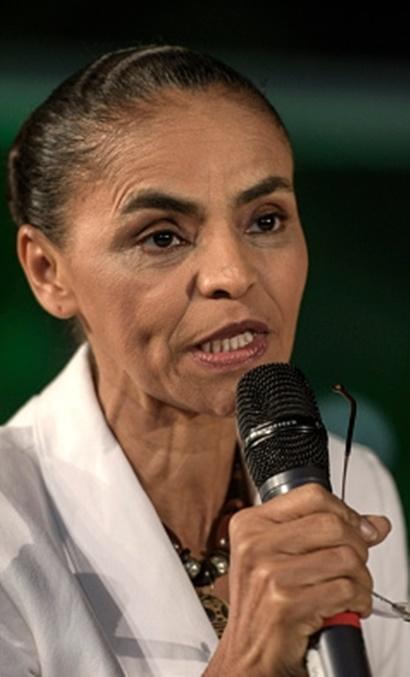 Marina Silva: sem grupo forte de apoio no Maranhão