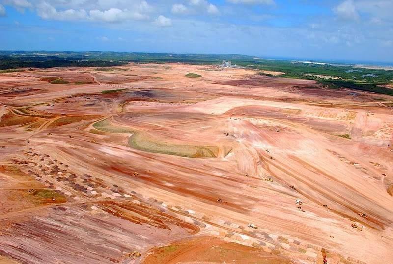 """Um imenso """"deserto"""" foi o que restou do projeto da refinaria que judaria o Maranhão"""