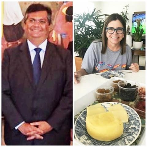Flávio Dino e Roseana Sarney não sabem ainda quem serão os seus candidatoa a presidente