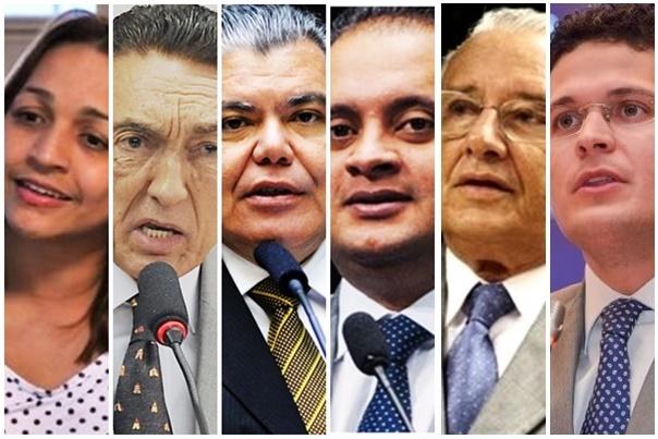 Corrida ao Senado: Eliziane lidera, seguida de Edison Lobão, Sarney Filho, Weverton Rocha, José Reinaldo tavares e Alexandre Almeida
