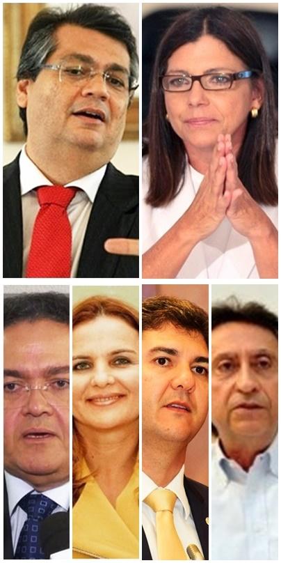 Flávio Dino lidera com folga, seguido de Roseana Sarney, Roberto Rocha. Maura Jorge, Eduardo Braide e Ricardo Murad em Imperatriz
