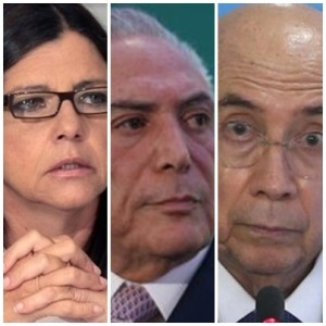 Roseana Sarney enfrenta dificuldades para falar de Michel Temer e Henrique Meirelles