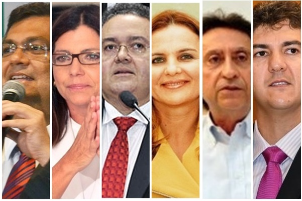 Flávio Dino, Roseana Sarney, Roberto Rocha, Maura Jorge e Ricardo Murad caminham para dar forma final ás chapas