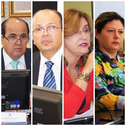 Luiz Gonzaga Martins Coelho, José de Ribamar Caldas Furtado, Sandra Pontes e Eudina ????: aççao republicana