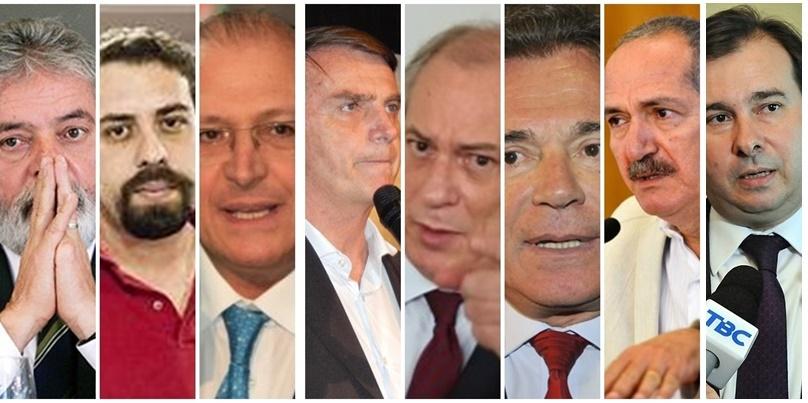 Lula da Silva, Guilherme Boulos, Geraldo Alckmin, Jair Bolsonaro, Ciro Gomes, Álvaro Dias, Aldo Rabelo e ,Rodrigo Maia já visitaram o Maranhão em clima de pré-camoanha
