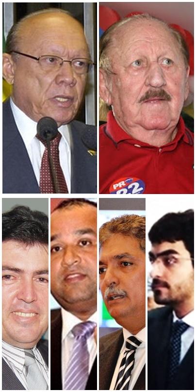 João Alberto e Zé Vieira comandam grupos que podem lançar Edvan Brandão, Roberto Costa, Carlinhos Florêncio ou Florêncio Neto