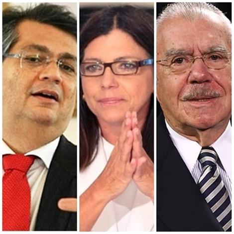 Flávio Dino lidera corrida e Roseana Sarney contra com o ex-presidente José Sarney para