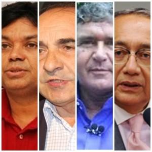 Márcio Jerry, Sebastião Madeira, Ildon Marques e Gastão Vieira vão com tudo por vagas na Câmara Federal