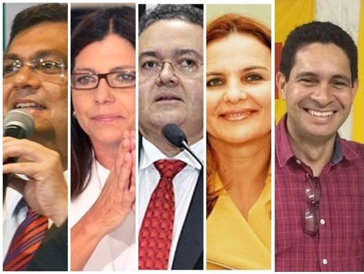 Flávio Dino, Roseana Sarney, Roberto Rocha, Maura Jorge e Odívio Neto  serão confirmados por convenções